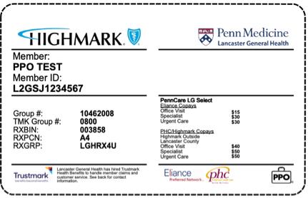 LGH Select Plan Card